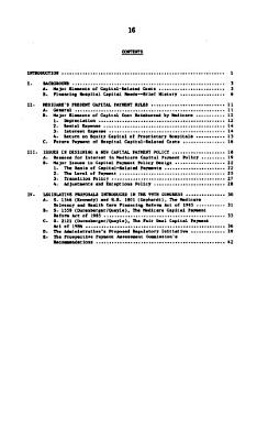 Reform of Medicare Payment for Capital Costs PDF