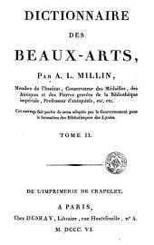Dictionnaire des beaux-arts, 2