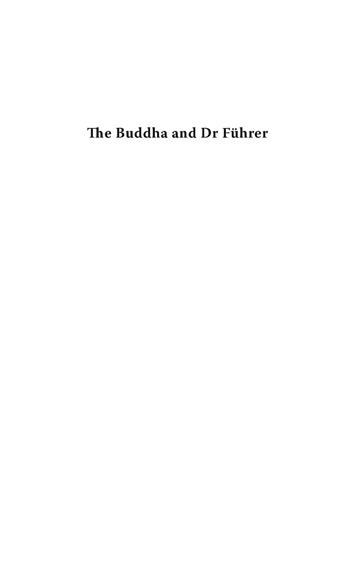 The Buddha and Dr. Führer
