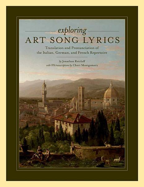 Exploring Art Song Lyrics PDF