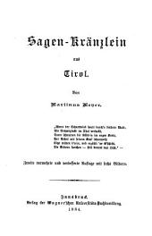 Sagen-Kränzlein aus Tirol