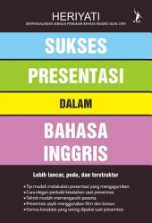 Sukses Presentasi dalam Bahasa Inggris