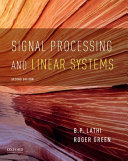 Signal Processing and Linear Systems PDF