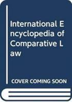 International Encyclopedia of Comparative Law  Instalment 12 PDF