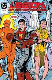 Legion of Super-Heroes (1984-) #54