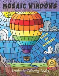 Mosaic Windows Color By Numbers Book PDF