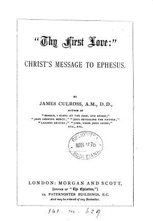 Thy First Love