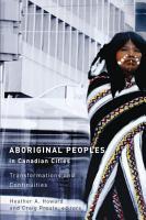 Aboriginal Peoples in Canadian Cities PDF