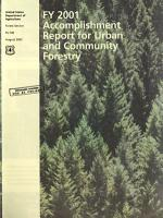 Urban and Community Forestry Accomplishments in     PDF
