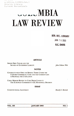 Columbia Law Review PDF