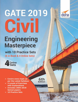 GATE 2019 Civil Engineering Masterpiece with 10 Practice Sets  6 in Book   4 Online  6th edition