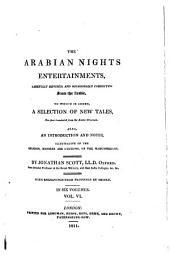The Arabian Nights Entertainments: Volume 6