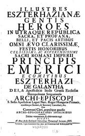 Illustres Esterhazianae gentis Heroes ... ab universitate Tyrnaviensi celebrati