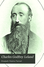 Charles Godfrey Leland: A Biography, Volume 1
