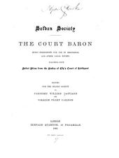 Court de baron: Volume 10