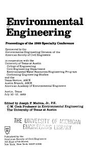 Environmental Engineering PDF
