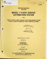 Model 1 Flight Service Automation System PDF
