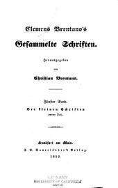Clemens Brentano's gesammelte schriften: Bände 5-6