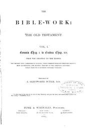 The Bible - Work: The Old Testament, Volume 1