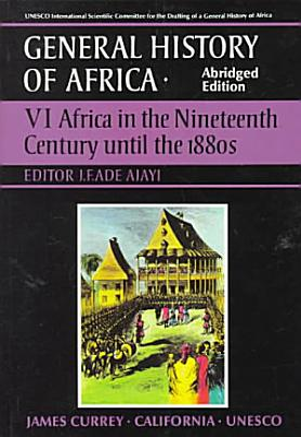 UNESCO General History of Africa  Vol  VI  Abridged Edition PDF