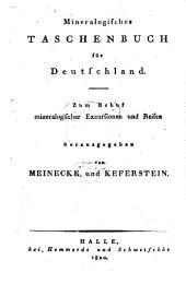 Mineralogisches Taschenbuch für Deutschland