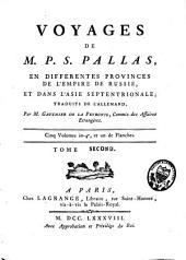 Voyages en différentes provinces de l'empire de Russie, et dans l'Asie septentrionale: Volume2