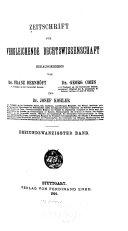 Download Zeitschrift f  r vergleichende Rechtswissenschaft Book