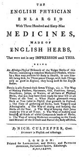 The English Physician Enlarged, Etc