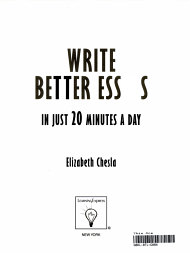 Write Better Essays in Just 20 Minutes a Day PDF