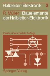 Bauelemente der Halbleiter-Elektronik: Ausgabe 2
