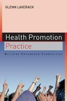 Health Promotion Practice  Building Empowered Communities PDF