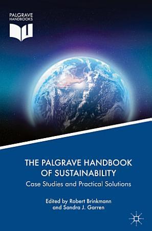 The Palgrave Handbook of Sustainability PDF