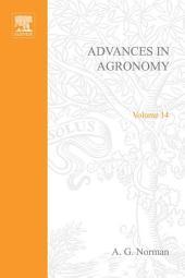 Advances in Agronomy: Volume 14