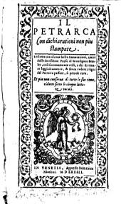 Il Petrarca: con Dichiarazioni non piu stamp