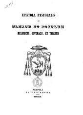 Epistola Pastoralis Ad Clerum Et Populum