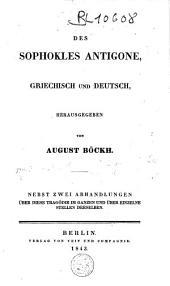 Antigone: Griechisch und Deutsch