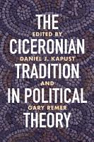 The Ciceronian Tradition in Political Theory PDF