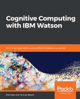 Cognitive Computing with IBM Watson PDF