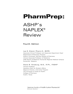 PharmPrep  ASHP s NAPLEX Review