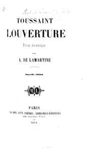 Toussaint Louverture, poème dramatique