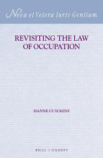 Revisiting the Law of Occupation