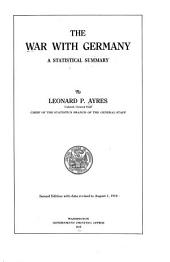 The War with Germany: A Statistical Summary
