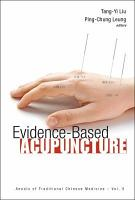 Evidence based Acupuncture PDF
