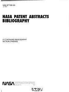 NASA Patent Abstracts Bibliography