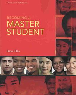 Becoming a Master Student Book
