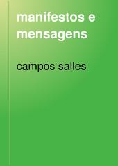 manifestos e mensagens