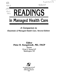 Readings in Managed Health Care
