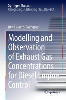 Modelling and Observation of Exhaust Gas Concentrations for Diesel Engine Control PDF