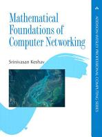 Mathematical Foundations of Computer Networking PDF