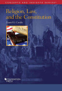 Religion  Law  and the Constitution PDF